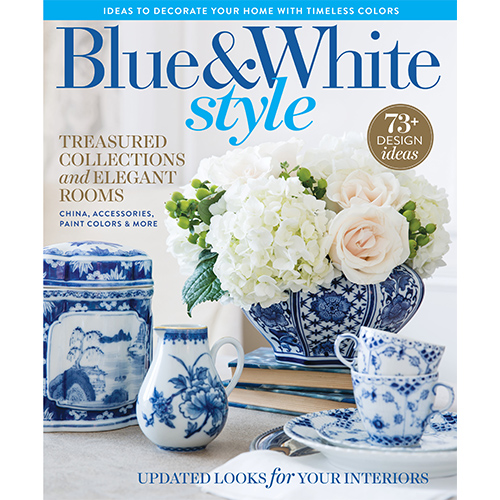 Hoffman Home Decor Blue White Style Media Store